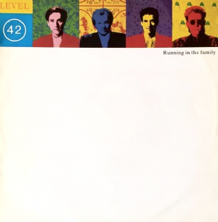 "Level 42 - Running In The Family (12"") (VG-EX/VG)"